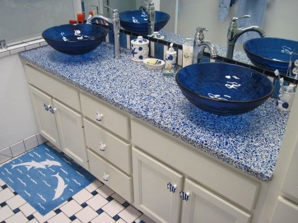 1000 Ideas About Recycled Glass Countertops On Pinterest Glass Countertops Countertops And