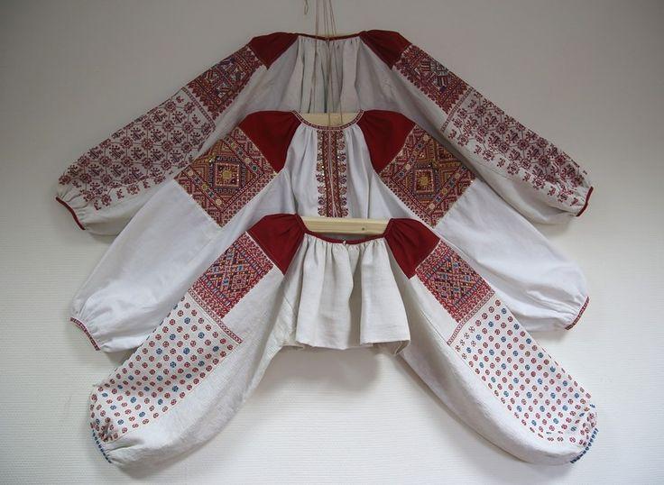 Традиционные женские рубахи Русского Севера