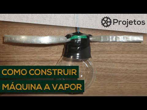 Como construir uma máquina a vapor - YouTube
