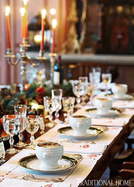 Great Gatherings: Formal Dinner with Timothy Corrigan - Traditional Home®