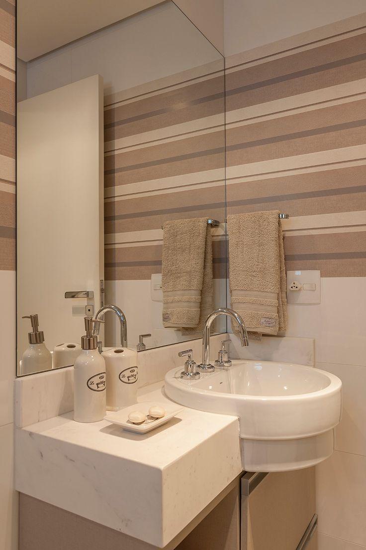 17 Best images about Banheiros  Bathrooms  Baños  Cerâmica Portinari on Pi -> Banheiros Decorados Atuais
