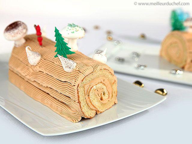 Bûche de Noël traditionnelle - Notre recette illustrée - MeilleurduChef.com