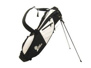 Amazon.com : PALM SPRINGS Sunday Golf Bag w/stand White/Black [Misc.] : Golf Carry Bags : Sports & Outdoors