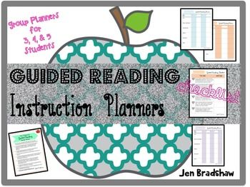 The+GUIDED+READING+PLANNER+will+help+you+plan+and+organize+for+small+group+reading+instruction+or+interventions.++I+also+included+a+checklist+that+will+guide+and+assist+you+with+making+decisions+about+your+students.++You+will+think+about+how+to+group+them,+where+to+begin+with+guided+reading+and+plan+for+literacy+instruction.There+are+three+different+Guided+Reading+Planners.