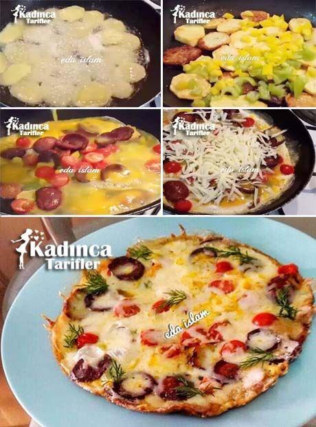 Patates Pizzası Tarifi