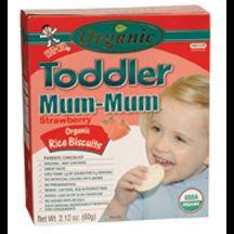 Hot Kid, Organic Strawberry Toddler Mum-mum, 6/2.12 Oz