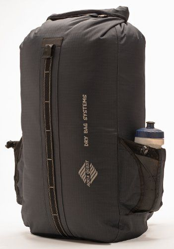Aqua-Quest `The Sport` Waterproof Backpack Dry Bag - 30 L / 1800 cu. in. Charcoal Model $75.00 (50% OFF) + Free Shipping