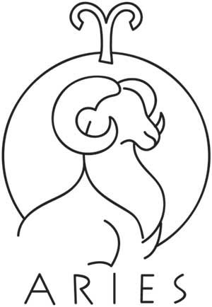Zodiac - Aries UTH1509 Those born under the sign of the ram, from March 21 to April 19, are natural born leaders who are fearless and driven.