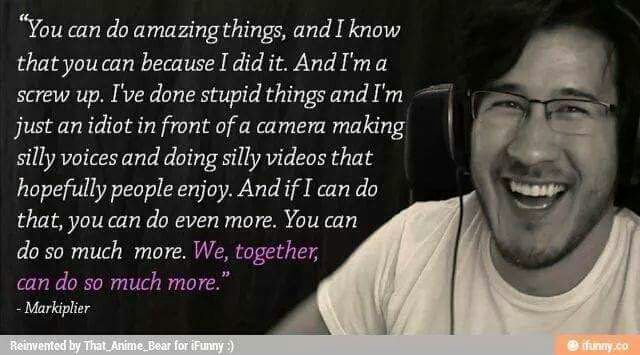 Markiplier Quotes So Much More Markiplier Markiplier Memes Youtube Quotes