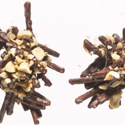 Chocolate Peanut Crunchies