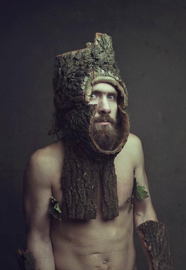 Tree man Homme-arbre #hybridation