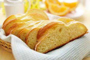 Orange Scented Easter Bread- This beautifully braided bread has the addition of orange zest for a contemporary twist on an Easter favourite. Include this bread in your Easter brunch menu – it's made for sharing with family!