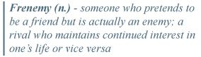 I never knew this word existed before. Call me naive... I prefer to think I just believed in people.