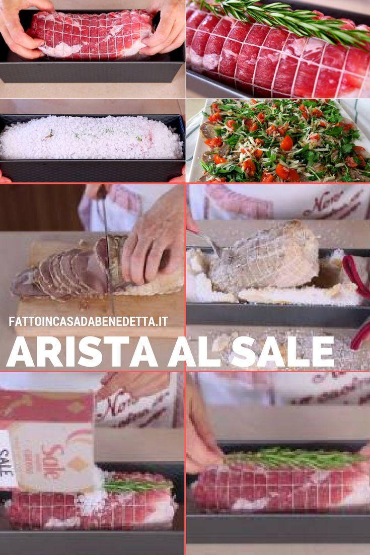 Ricetta facile per cuocere l'arista di maiale al sale. Un arrosto gustoso da servire per il pranzo della domenica.