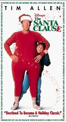 The Santa Clause (1994) ((My favorite Christmas movie... We all watched this tonight while doing our tree=)))