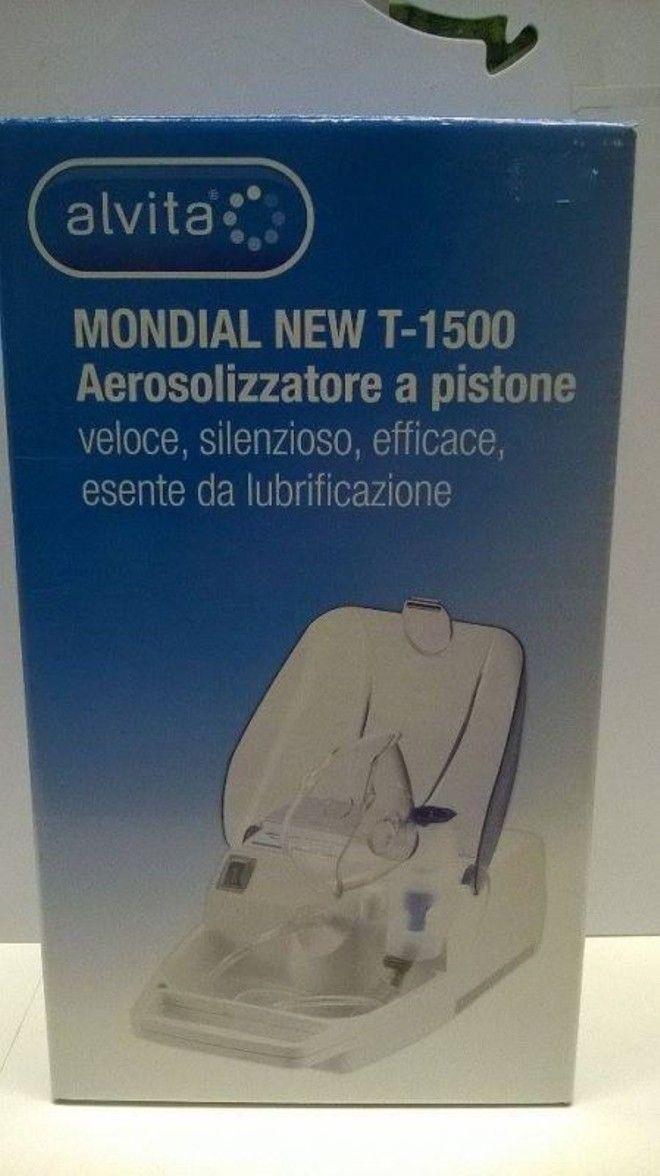 Macchinetta Aerosol / Aerosolizzatore a pistone MONDIAL NEW T-1500 alvita