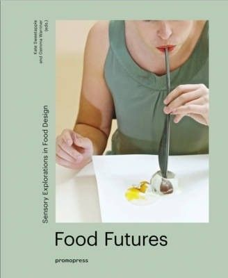 Description: Food Futures is a compilation of unique design projects that act as visual stimulus for designers and food enthusiasts alike, illustrating the possibilities that new technologies open up to designers and the different ways society perceives food. The aestheticisation of food is a growing phenomenon for both designers and consumers alike. Designers are increasingly identifying food as an object that speaks a global language, as an effective communication medium to visualise and…