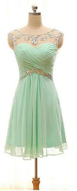 Mint green homecoming dresses, homecoming dress mint green, short homecoming…