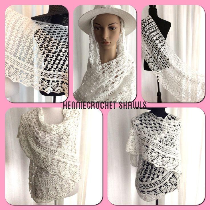 Een persoonlijke favoriet uit mijn Etsy shop https://www.etsy.com/nl/listing/534740854/bruiloft-gardenia-sjaal-witte-bruids