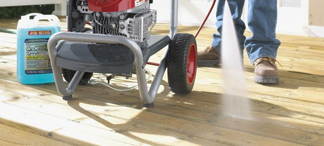 Always Pressure Wash With The Grain Of The Wood To Avoid