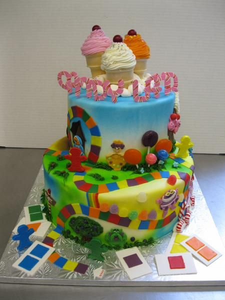 21 Best Images About Cake On Pinterest Palermo Minion Pumpkin And Candy Land Cakes