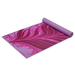 Gaiam Print Yoga Mat, Mardi Gras, 4mm by Gaiam for $21.98 http://amzn.to/2hgldHF