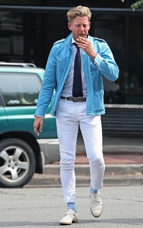 Lapo serving as a summer inspiration.