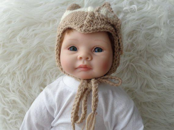 Newborn Hat .Knitted Hat.Unique hat.Stocking Hat. by knitsdwarfs, $24.00