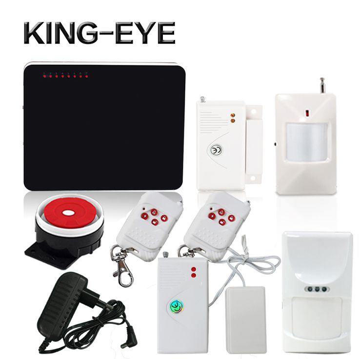 433 Mhz Smart Home Security Alarm Gsm Alarm System Security Sms With  Anti Pet PIR