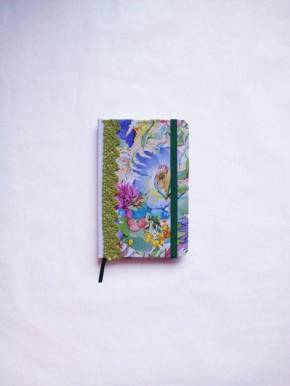 Cute small notebook, made in decoupage technique. #cute #small #notebook #flowers #gift #idea #woman #decoupage #handmade #original #handicraft #etsy