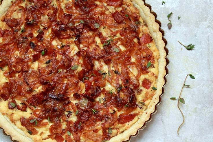 and Caramelized Onion Tart | Gourmet | Pinterest | Onion Tart, Tarts ...