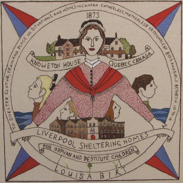 GB-E14 - Louisa Birt - The Scottish Diaspora Tapestry