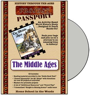 HTTA - Time Travelers - The Middle Ages $34.95