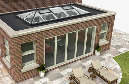 Lantern sky light - We use a variety of styles when creating an orangery - Enquire today for a bespoke style... 0800 854 803 More