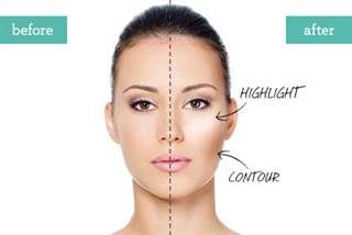 Contouring is the art of highlighting and shading. 6 secrets learned at makeup artist school.