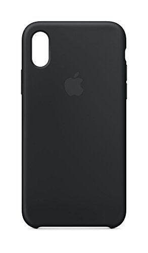 069ed3e12c5 cool Apple MQT12ZM/A Funda para Apple iPhone X de Silicona, color negro