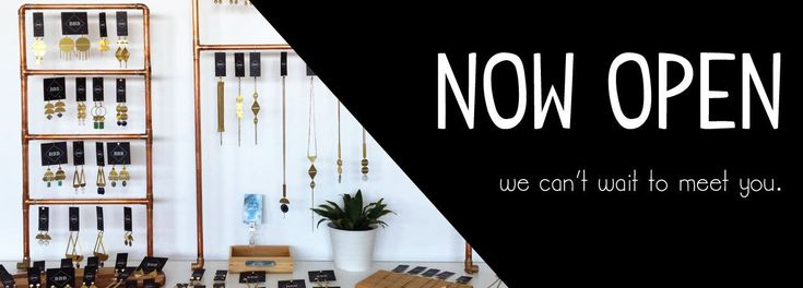 We are a small design shop located in the heart of Edmonton off 112 Avenue NW. Come in and say hello! We love local design and handcrafted items.