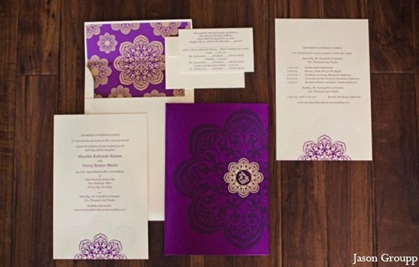 Purple Indian Wedding Invitations: 20 Best Images About Hindu Wedding Invitations On