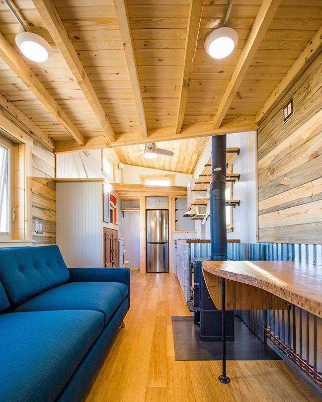 Built By MithCraft Tiny Homes🛠 U2022 📍 Fort Collins, Colorado. U2022 U2022  #tinyhousemovement #tinyhouse #travelgram #cottage #interior #wanderlust ...