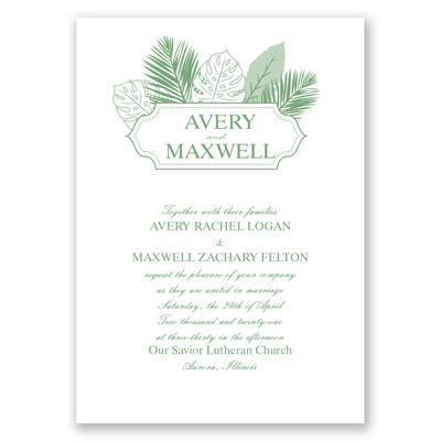 266 best Wedding Invitations images on Pinterest Bridal - invitation template nature