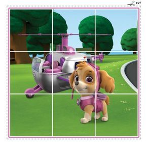 The Paw Patrol is here to save the day with this fun puzzle pack!