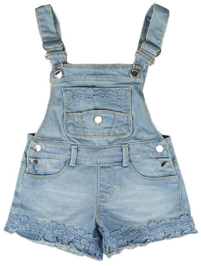 Oshkosh Denim Shortalls Size 9 Months NWT Retail $32