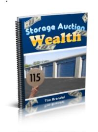Storage Auction Wealth With Images Storage Unit Auctions
