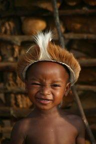 three year old Zulu,South Africa