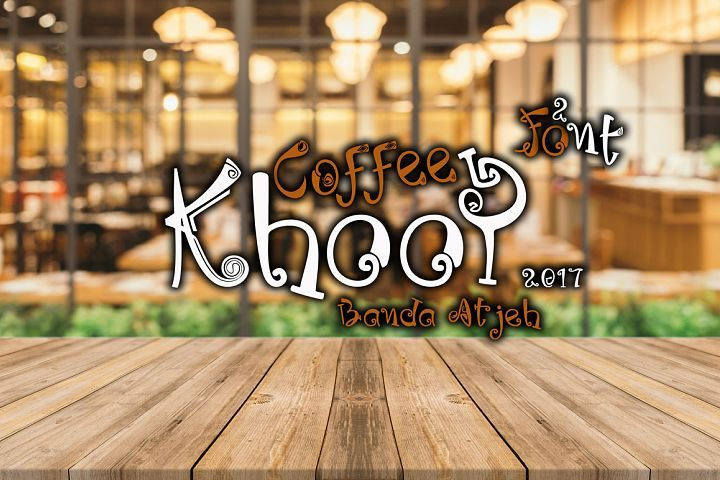 Coffee Khoop from FontBundles.net