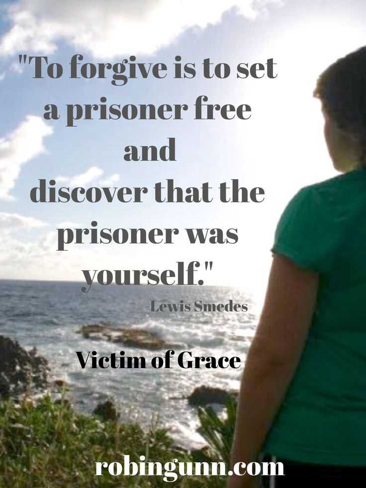 Robin Jones Gunn » Blog Archive Forgive And Be Free - Robin Jones Gunn