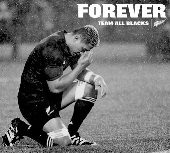RIP my friend - you will be missed.  Jerry Collins - All Blacks rugby