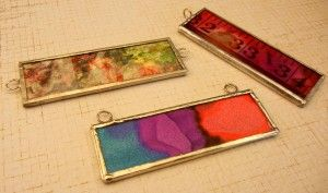 Microscope Slide Pendants and soldering tutorial