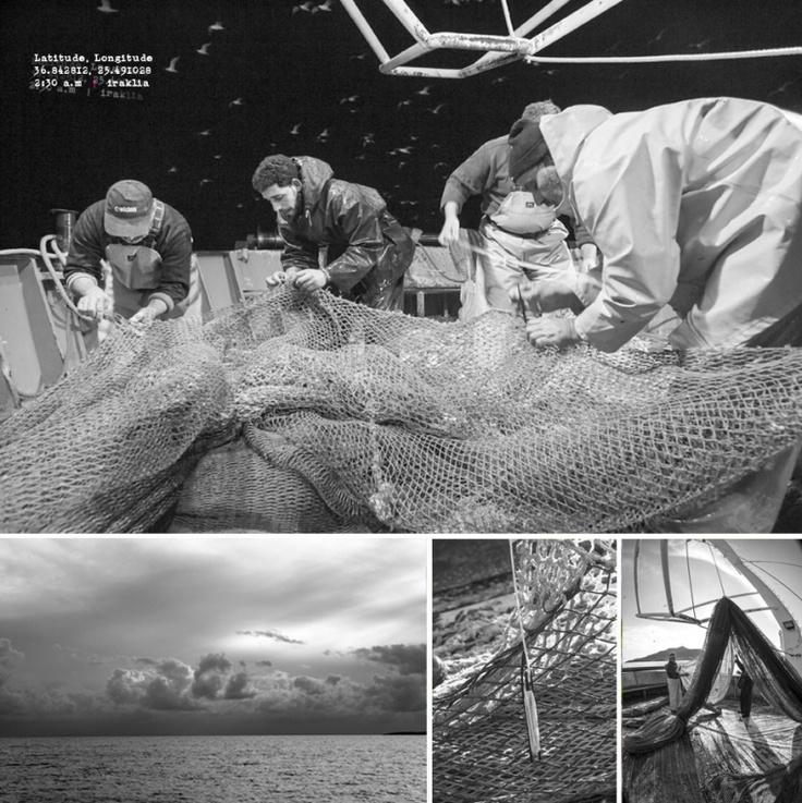 Winter fishing trip: Iraklia