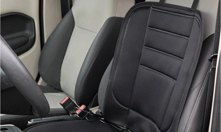Stalwart #Heated #Car #Seat Cushion 12 Volt Black Car Seat Covers Interior $19.99